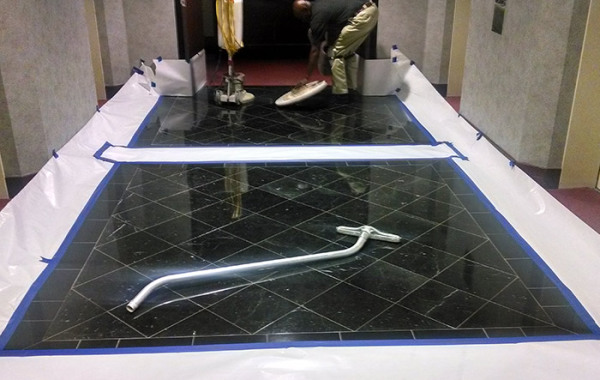 Commercial Marble Floor