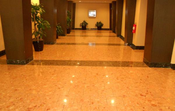 Agglomerate Floor Restoration