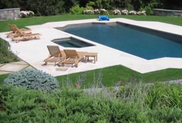 coquina stone pool surround