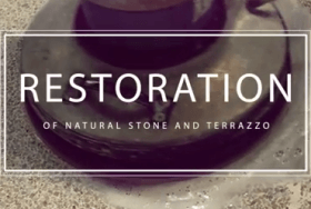 Restoration of Natural Stone and Terrazzo