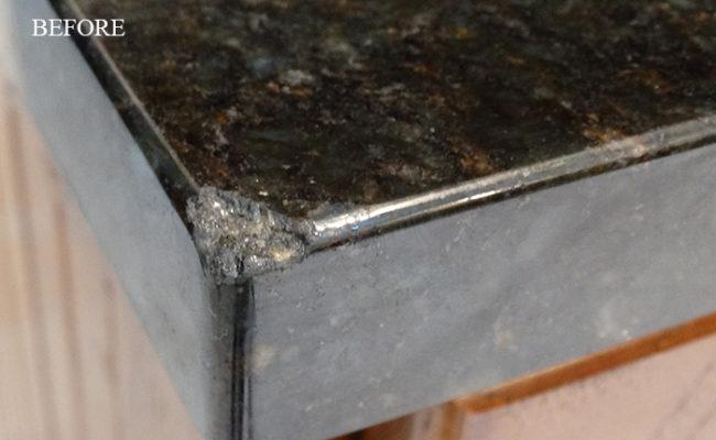 Chipped Granite Countertop Repair